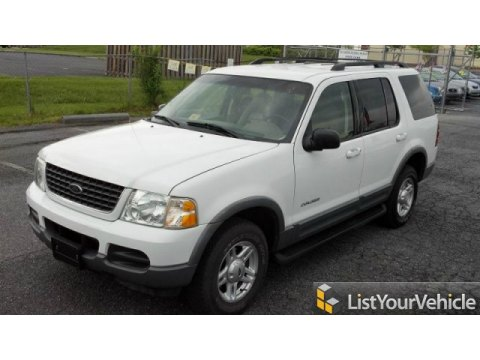 2002 Ford Explorer XLT 4x4 in Oxford White