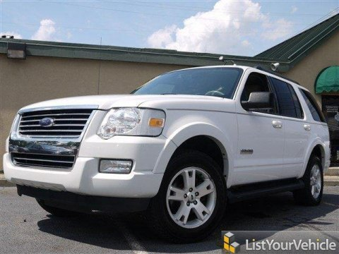 2007 Ford Explorer XLT in Oxford White