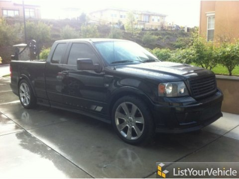 2007 Ford F150 Saleen S331 Supercharged SuperCab in Black