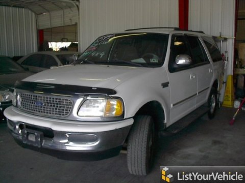1998 Ford Expedition XLT 4x4 in Oxford White