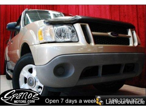 2001 Ford Explorer Sport Trac  in Harvest Gold Metallic