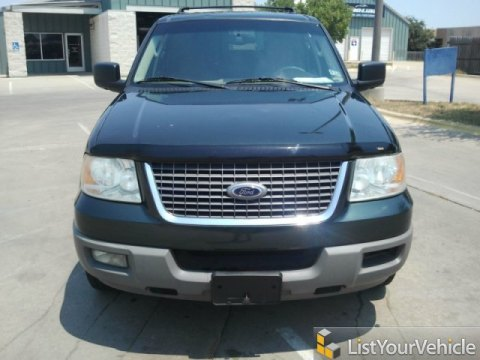 2003 Ford Expedition XLT in Aspen Green Metallic
