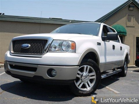 2007 Ford F150 Lariat SuperCrew in Oxford White