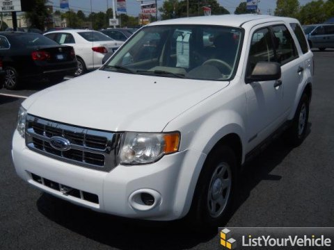 2008 Ford Escape XLS in Oxford White
