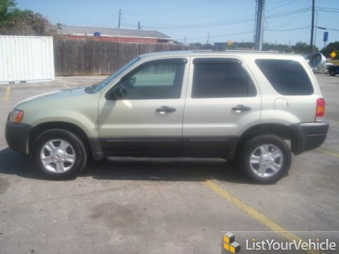 2003 Ford Escape XLT V6 in Gold Ash Metallic