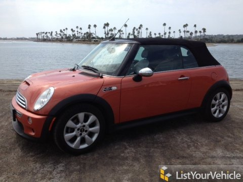 2006 Mini Cooper S Convertible in Hot Orange Metallic