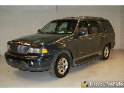 2000 Lincoln Navigator  in Medium Charcoal Blue Metallic