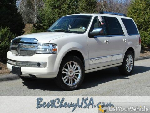 2008 Lincoln Navigator Luxury 4x4 in White Chocolate Tri Coat