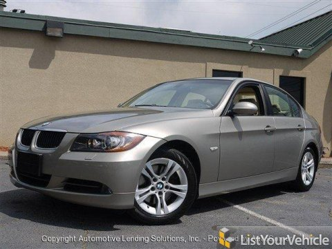 2008 BMW 3 Series 328i Sedan in Platinum Bronze Metallic