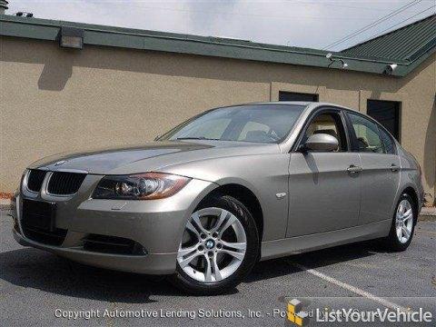 2008 BMW 3 Series 328i Sedan in Platinum Bronze Metallic