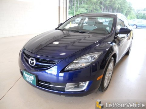 2010 Mazda MAZDA6 s Touring Sedan in Kona Blue Mica