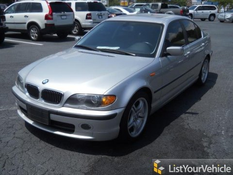 2005 BMW 3 Series 330i Sedan in Titanium Silver Metallic