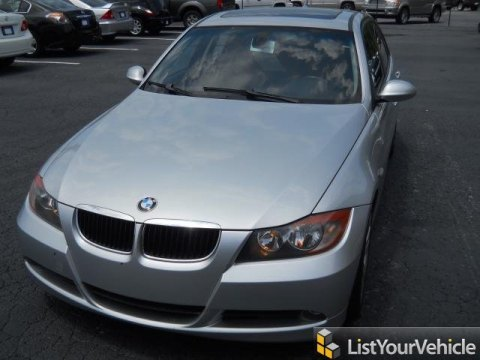 2006 BMW 3 Series 325i Sedan in Titanium Silver Metallic