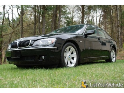 2008 BMW 7 Series 750i Sedan in Jet Black