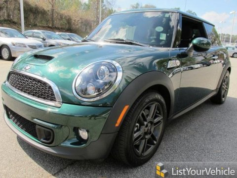 2011 Mini Cooper S Hardtop in British Racing Green II