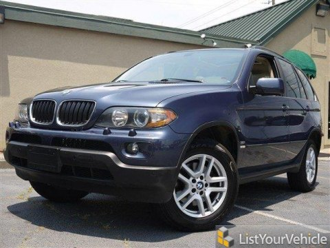 2006 BMW X5 3.0i in Toledo Blue Metallic