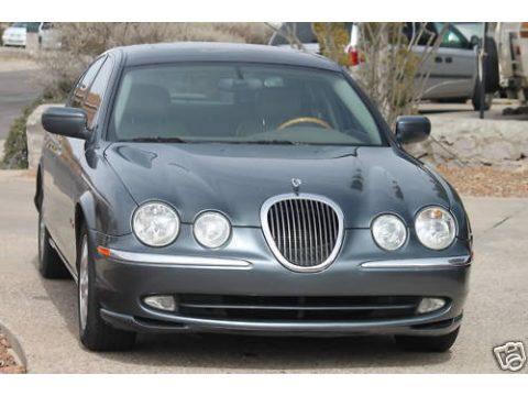 2000 Jaguar S-Type 3.0 in Titanium Pearl