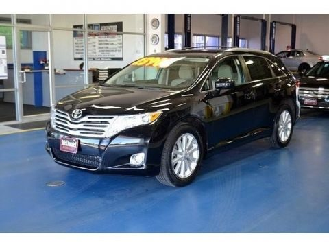 2009 Toyota Venza I4 in Black