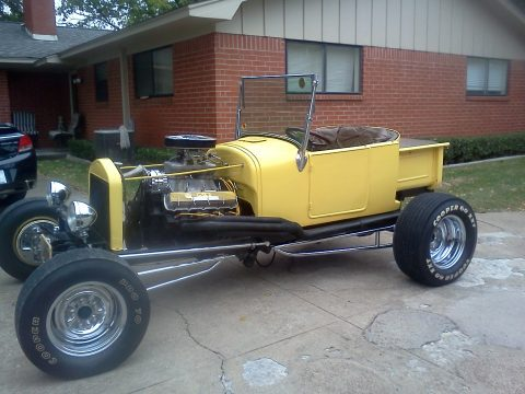 1927 Ford T Bucket  in Yellow