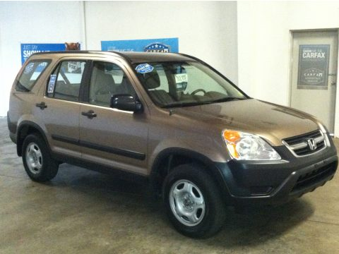 2004 Honda CR-V LX 4WD in Mojave Mist Metallic
