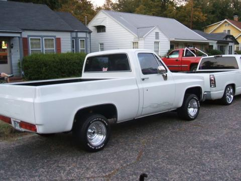 1985 Chevrolet Silverado 1500 in White
