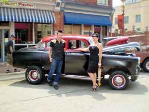 1953 Chevrolet Bel Air Sedan in Flat Black