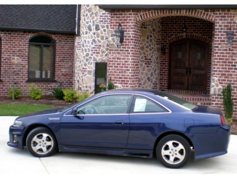 1999 Honda Accord EX V6 Coupe in Deep Velvet Blue Pearl