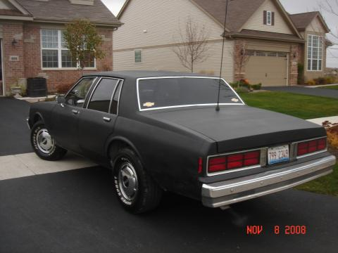 1989 Chevrolet Caprice 9C1 Police Package in Flat Black