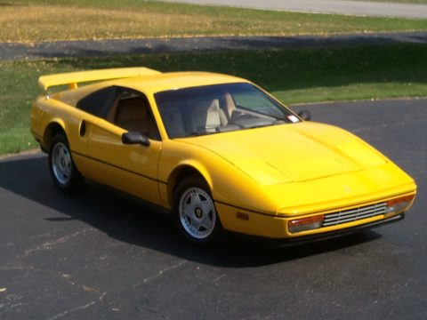 1986 Pontiac Fiero Ferrari 328 Kit Car in Yellow