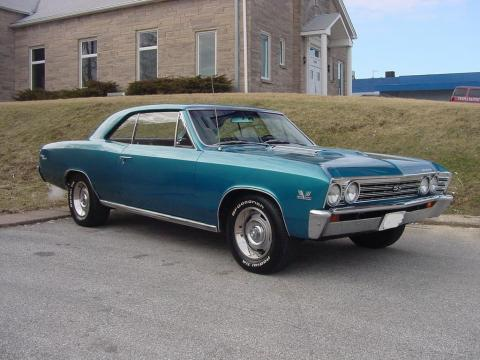 1967 Chevrolet Chevelle SS 396 in Turquoise