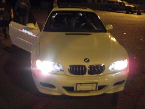 2005 BMW M3 Coupe in Alpine White