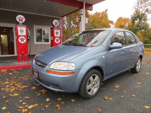 2006 Chevrolet Aveo LT Sedan in Icelandic Blue