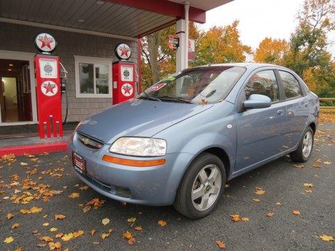 2006 Chevrolet Aveo LT Sedan in Icelandic Blue