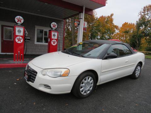 2004 Chrysler Sebring Convertible in Stone White