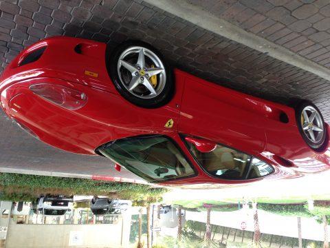 2003 Ferrari 360 Modena F1 in Rosso Corsa (Red)