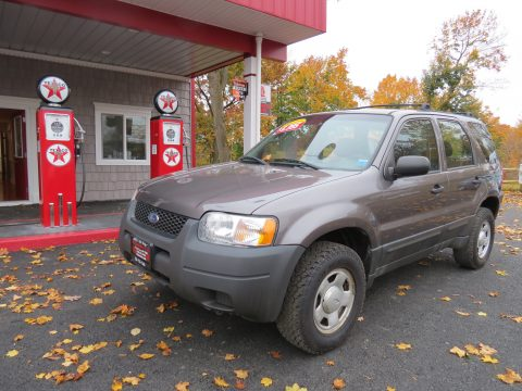 2003 Ford Escape XLS V6 4WD in Dark Shadow Grey Metallic