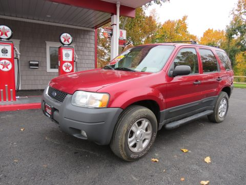 2004 Ford Escape XLT V6 4WD in Redfire Metallic