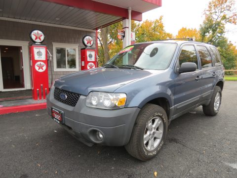 2005 Ford Escape XLT V6 4WD in Sonic Blue Metallic