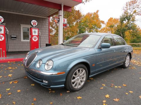2000 Jaguar S-Type 3.0 in Seafrost