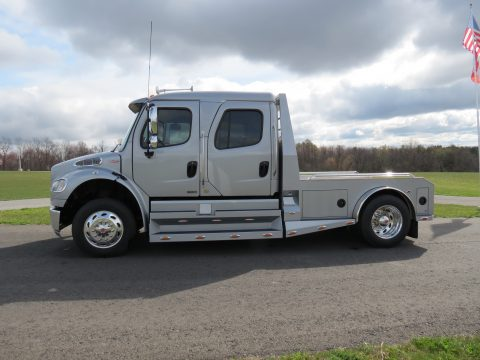 2011 Freightliner Business Class M2 SportChassis RHA114-350 in Silver Metallic