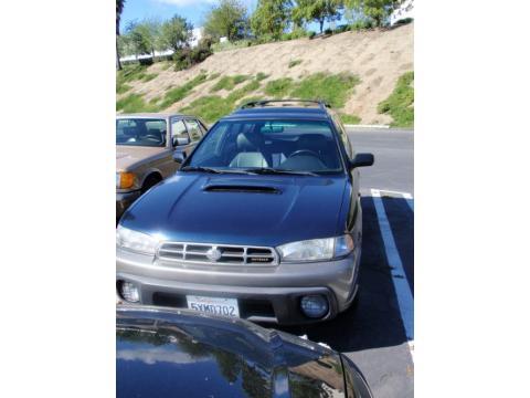 1999 Subaru Legacy Outback Wagon in Deep Sapphire Blue