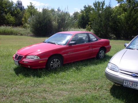 1992 Pontiac Grand Am SE Coupe in Bright Red