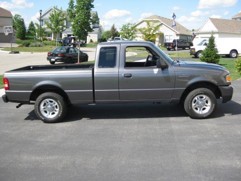 2007 Ford Ranger XLT SuperCab in Dark Shadow Grey Metallic
