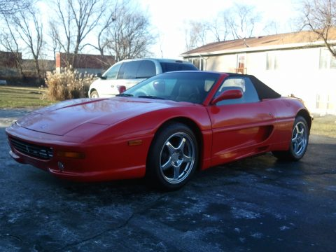 1987 Pontiac Fiero F355 Ferrari Kit Car Replica in Red
