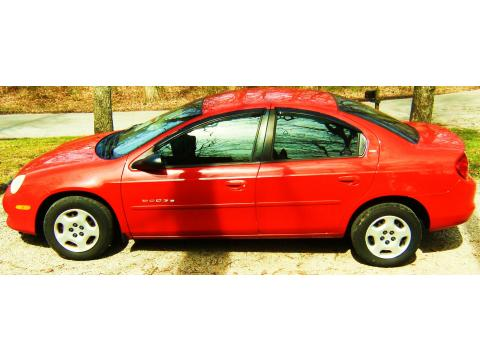 2001 Dodge Neon ES in Flame Red