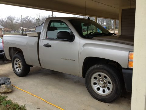2007 Chevrolet Silverado 1500 Regular Cab in Silver Birch Metallic