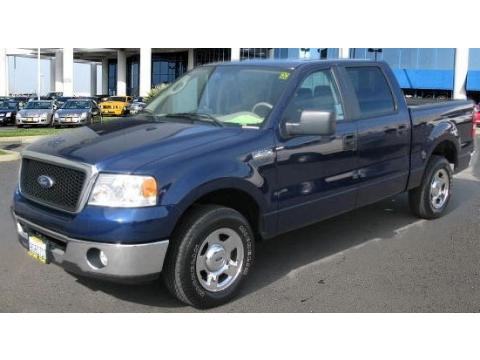 2006 Ford F150 XLT SuperCab in True Blue Metallic