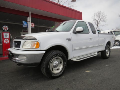 1998 Ford F150 XLT SuperCab 4x4 in Oxford White