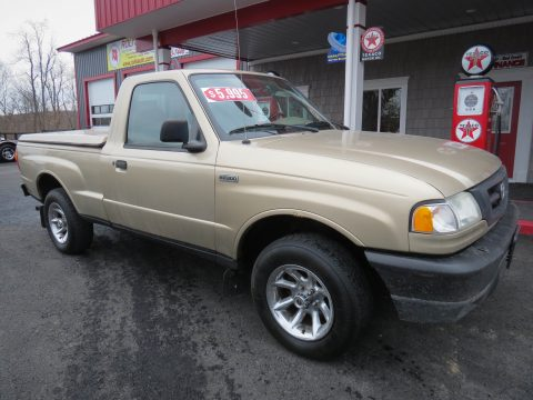 2002 Mazda B-Series Truck B2300 Regular Cab in Desert Sand Metallic