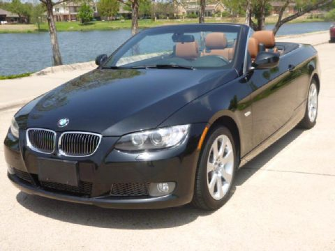 2010 BMW 3 Series 335i Convertible in Black Sapphire Metallic